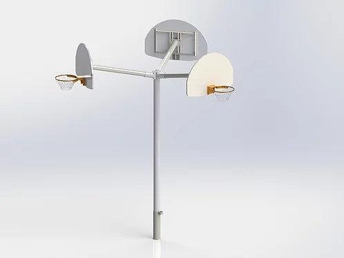 Panier de Basket-Ball Triple