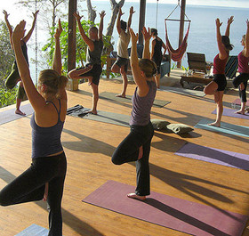 Strong growth for yoga retreats