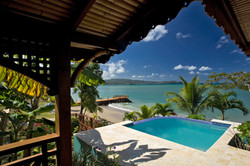 Watersedge cottage with pool - Calabash Cove