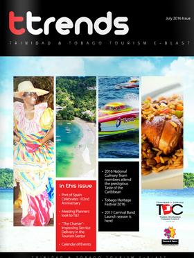 Trinidad & Tobago Tourism launches TTrends E-Blast