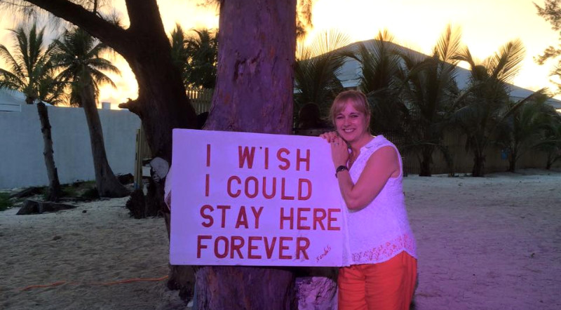Nadine at Nassau, Bahamas