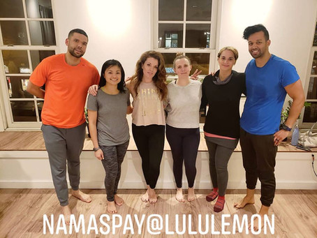 Our Very First Yogic Events