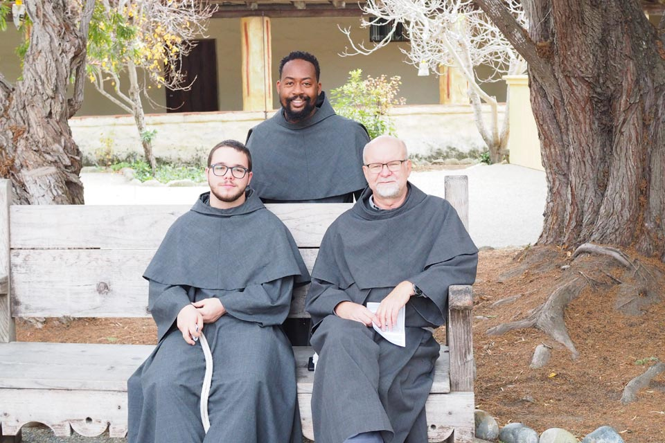 Friars Moe, Brandon and Fabian Mission