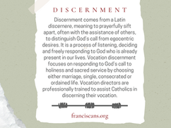 Religious Word Wednesday: Discernment