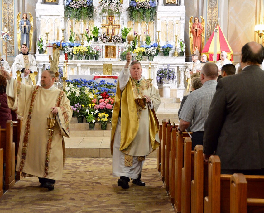 The Diocese of Springfield's Bishop Mitchell T. Rozanski served as Principal Celebrant.