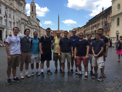 Friar Joins Catholic University of America Students to Assisi