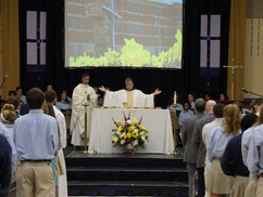 Friar Lavin Chaplains in Catholic High School