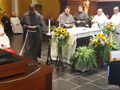 Friars Profess Temporary Vows