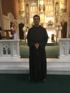 Meet our Student- Friar Christopher Douglas Garcia