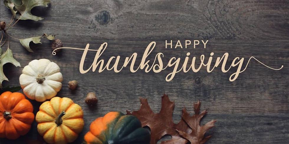 Take Home Thanksgiving Dinner