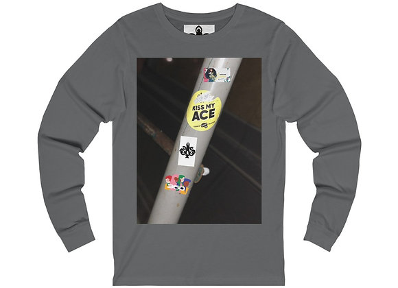 Sticker Long Sleeve Tee