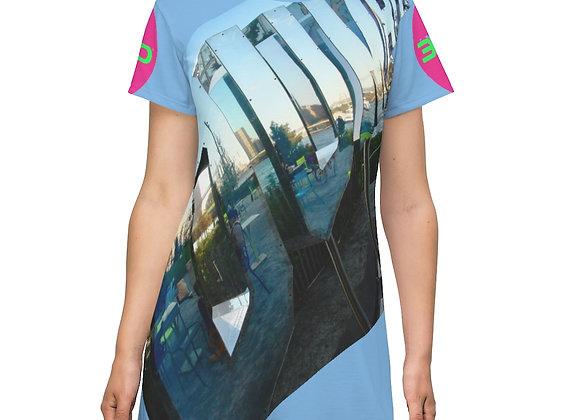 3D Elongated T-Shirt Dresss