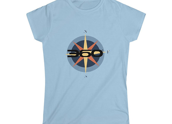 Compass Fitted Tee