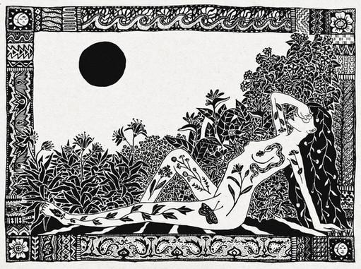 Blinded by the sun IV  //  Katherine Shapiro