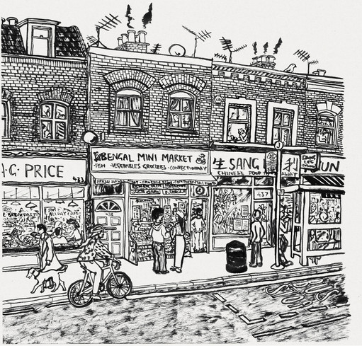 London High street   //  Katherine Shapiro