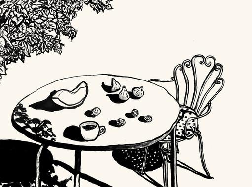 Breakfast in Puglia  //  Katherine Shapiro