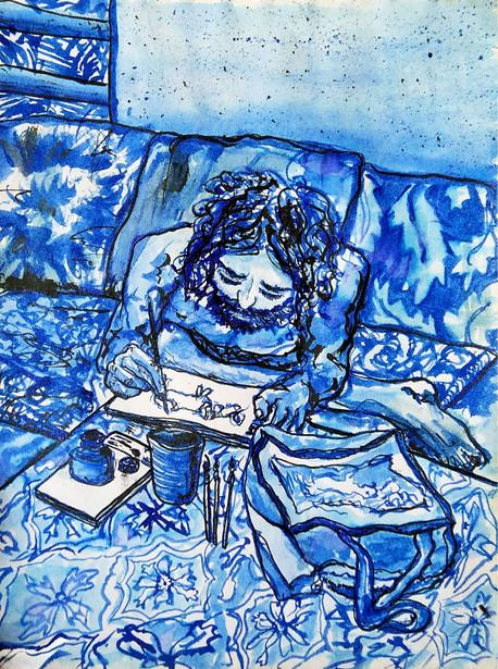 Tangled up in Blue  //  Katherine Shapiro