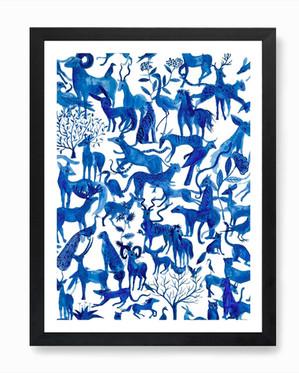 Forest Consciousness print