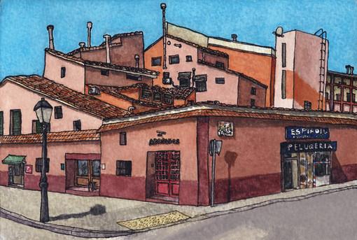 Calle Miguel Servet  //  Katherine Shapiro