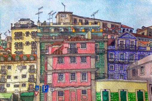 Lisbon   //  Katherine Shapiro