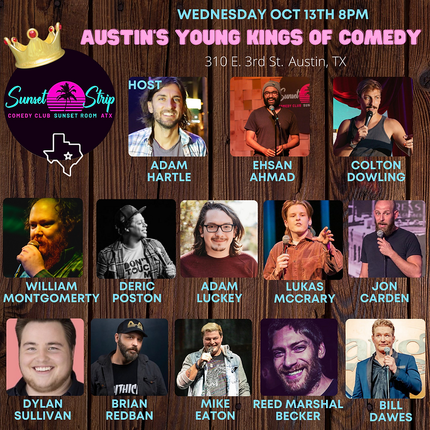 Wednesday October 13th 8pm show