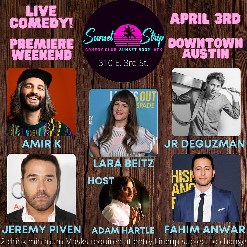 Saturday April 3rd comedy showcase 7:00pm