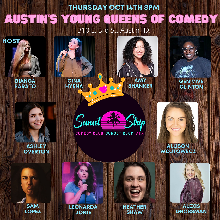 Thursday October 14th 8pm show