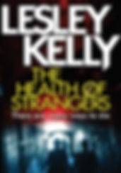 Cover of The Health of Strangers by Scottish crime writer Lesley Kelly