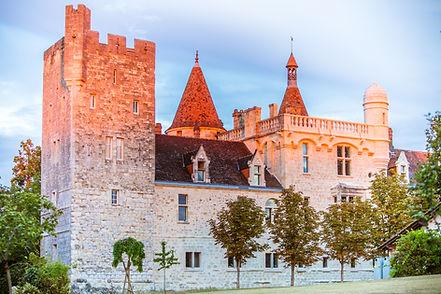 Photo extérieur du chateau du Domaine de la Dame Blanche à Grignol