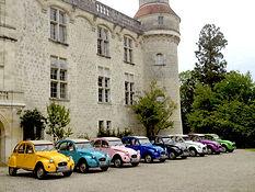Organisez des évènements au Domaine de la Dame Blanche. Regroupement de voitures anciennes, anniversaire, mariage, baptème, fête de famille ou seminaire professionnel.