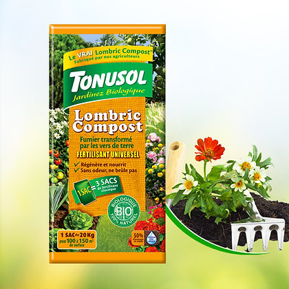 Lombric compost