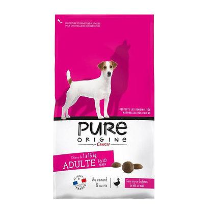Pure origine - Adulte 1/15kg - sac de 3 et 7,5kg