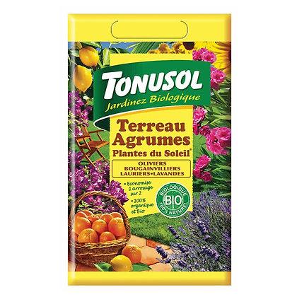 Terreau agrumes et plantes du soleil