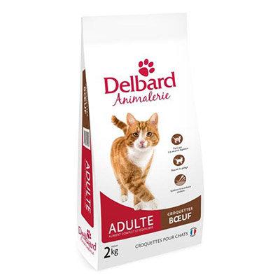 Croquettes Delbard - chat adulte - boeuf