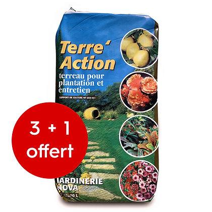 Terre action 70L X4