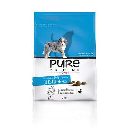 Pure origine - Junior 15/60kg - sac de 3kg ou 7,5kg
