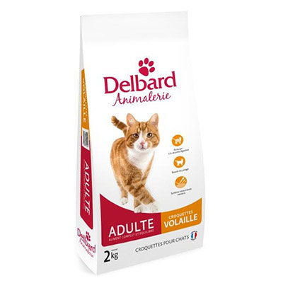 Croquettes Delbard - chat adulte - volaille