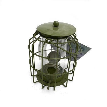 Distributeur graines en métal anti-écureuil