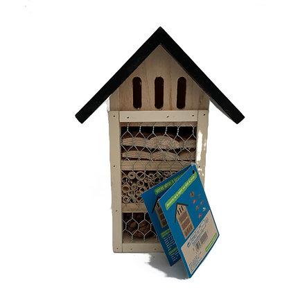 Hôtel à insectes 4 compartiments