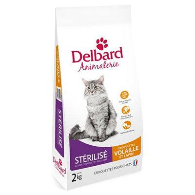 Croquettes Delbard - chat stérilisé - volaille et lapin