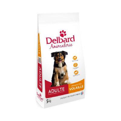 Delbard - chien adulte - volaille - sac de 5 et 12kg