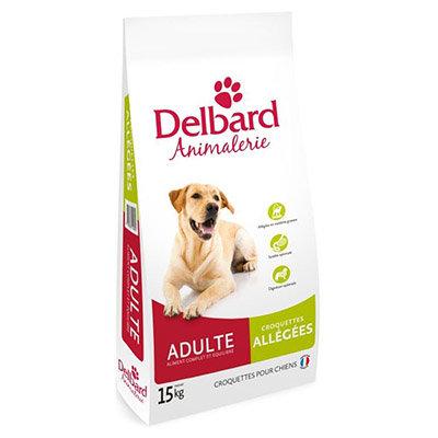 Croquettes Delbard - chien adulte - allégées
