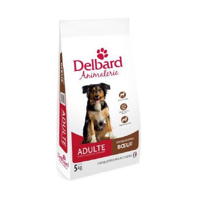 Croquettes Delbard - chien adulte - boeuf