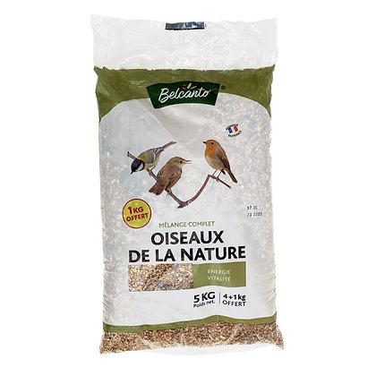 Mélange oiseaux de la nature Belcanto 4+1kg