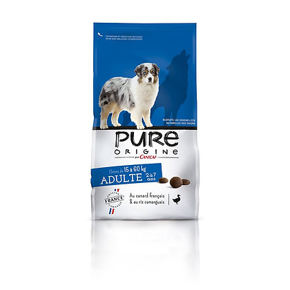 Croquette Pure origine - Adulte -15 à 60kg