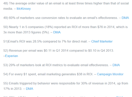 Email Marketing? Yes, please!