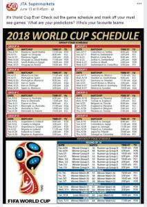 JTA World Cup post