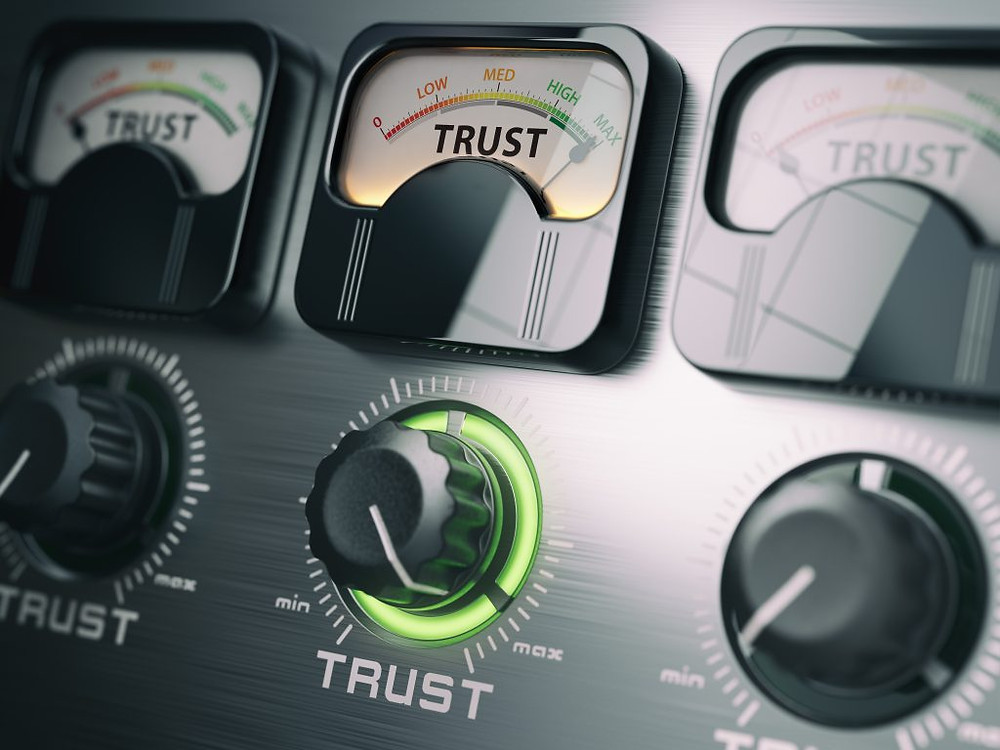 Business blogging creates trust