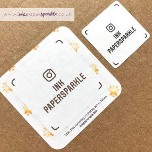Instagram Nametag Stickers