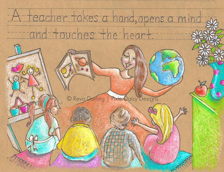 EDU-002_A Teacher takes a hand